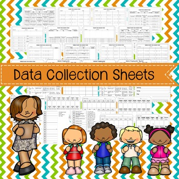 Data Collection Sheets GROWING BUNDLE