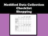 Data Collection Shopping (Modified)