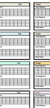 Data Collection Templates for Group Therapy