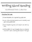 Data Collection:  Writing About Reading