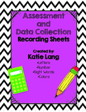 Data Collection and Assessment Pack for Student Binder