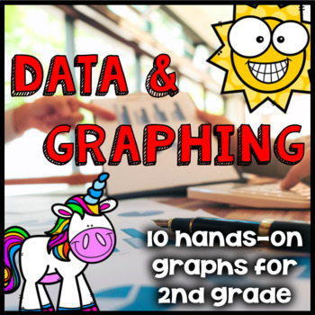 Data Collection and Graphing - Summer/Sunny 2nd Grade Math Activities