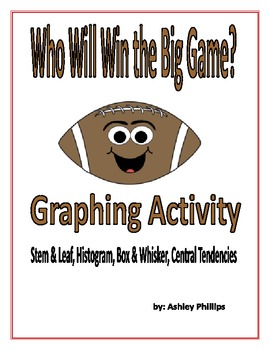 Data Collection and Graphing Activity from Football Scores