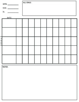 Data Collection for Individual Speech Therapy Sessions