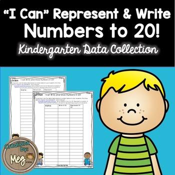 Data Collection for Kindergaten Standard K.CC.A.3