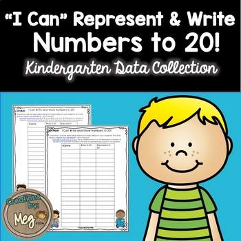 Data Collection for Kindergaten Standard K.CC.A.3