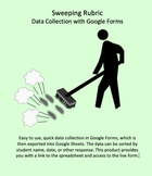 Data Collection for Sweeping developed for Google Forms