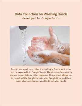 Data Collection for Washing Hands developed for Google Forms