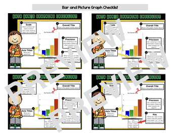 Data Dan Bar and Picture Graph Checklist