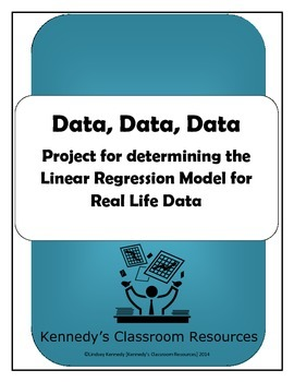 Data, Data, Data: A Project for Finding the Linear Regression Model