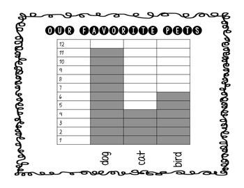 Data! Data! Everywhere! 2nd grade graphs
