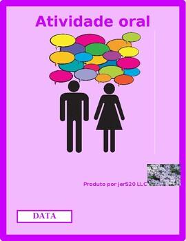 Data (Date in Portuguese) Partner Speaking activity