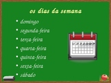 Data (Date in Portuguese) powerpoint
