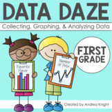 Collecting & Graphing Data (Math Worksheets & Key Word Cards)