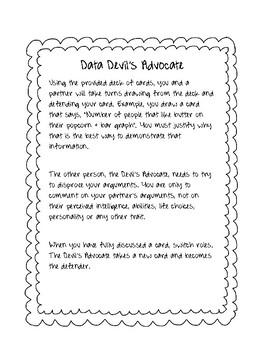 Data Devils Advocate