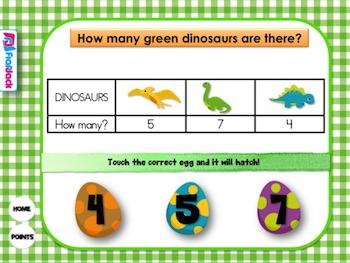 Data Dinosaurs Smart Board Game