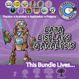 Data Displays & Analysis -- Pre-Algebra Curriculum -- Essential Unit Bundle