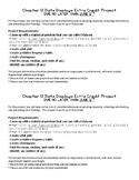 Math Data Displays Project (Statistics/Probability)