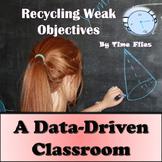 Data-Driven Classroom Instruction: Recycling Weak Objectives