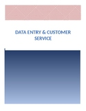 Data Entry & Customer Service