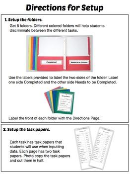 Data Entry Work Tasks