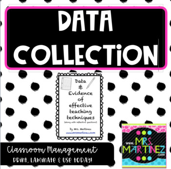 Data, Evidence and Reflection