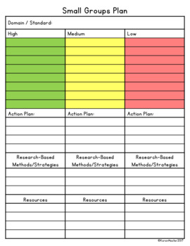 Data Tracking: First Grade Common Core Math Standards