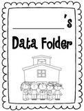 Data Folders with Student Goals