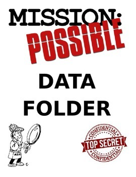 Data Folder Cover Page - Mission Possible