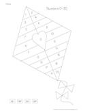 Data Folder Sheet- Numbers 0-20