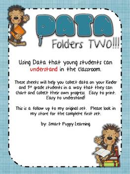 Data Folder TWO! Papers for Young Learners (K-1)