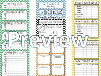 Data Folder, Upper Grades 3-8