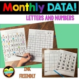 Data Folder  Letter Writing and Number