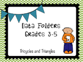 Data Folders & Student Accountability Grades 3-5