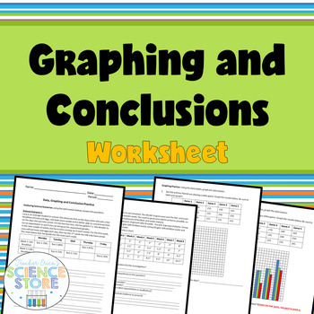 Data, Graphing and Conclusions Worksheet