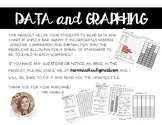 Data: Graphing, Bar Graphs, Pictographs and Data Analysis