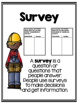 Data, Graphing, and Surveys