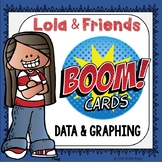 Data & Graphing Boom Cards Digital Resource