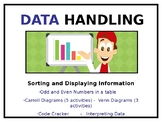 Data Handling: Tables, Carroll Diagrams and Venn Diagrams