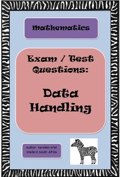 Data Handling: Exam / Test Questions