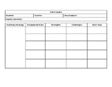 Data Inquiry Template
