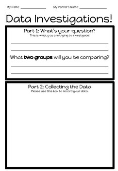 Data Investigations (Differentiated Line Plot Activity)