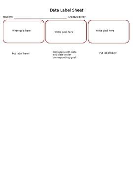 Data Label Sheet