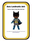 Data Landmark Unit (maximum, minimum, range, median, mode, mean)