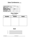 Data Log Sheet (Parents)