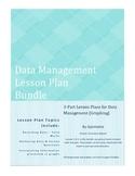 Data Management 3-Part Lesson Plan Bundle - Graphing Lessons