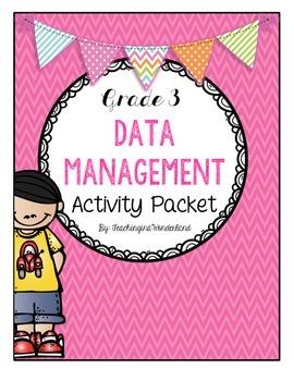 {Grade 3} Data Management Activity Packet