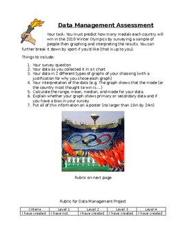 Data Management Assessment- Olympic Theme