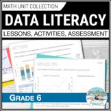 Data Management Complete Unit - Grade 6 Ontario (Graphing)