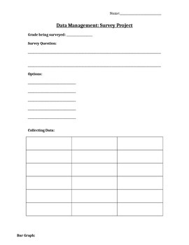 Data Management Culminating Project and Rubric (Editable)